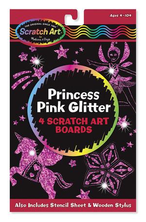 Scratch Art® Princess Pink Glitter pack