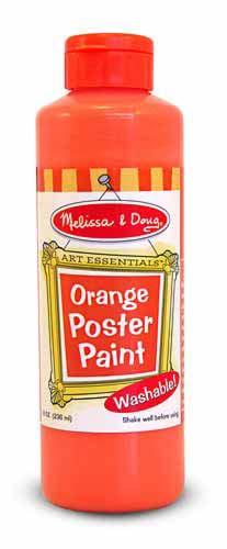 Orange Poster Paint