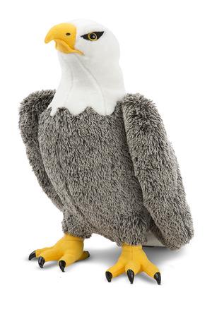 Bald Eagle Lifelike Stuffed Animal