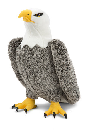 Bald Eagle Lifelike Stuffed Animal