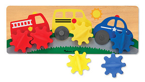 Vehicle Gears Board Toddler Toy
