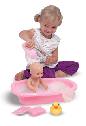 Mine to Love - Bathtime Play Set
