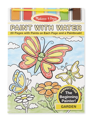 Garden Paint with Water Kids' Art Pad