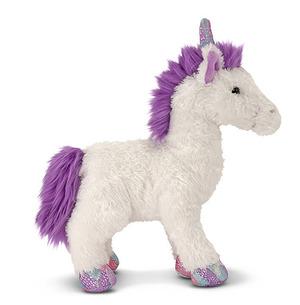 Misty White Unicorn Stuffed Animal