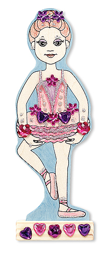 Decorate-Your-Own Ballerina Doll