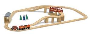 Swivel Bridge Train Set