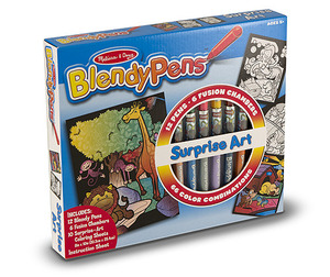 Blendy Pens Markers Surprise Art - 66 Colors