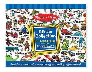 Sticker Collection - Blue
