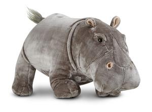 Hippopotamus Lifelike Stuffed Animal