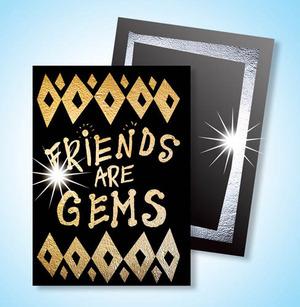 Scratch Art Gold & Silver Scratch-Brite Artist Trading Cards