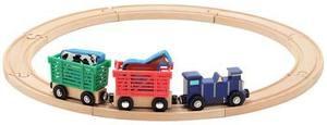 Farm Animal Train Set