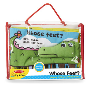Soft Activity Book - Whose Feet?