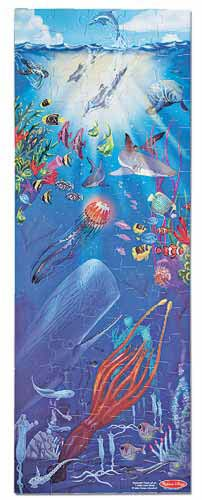 Ocean Wonders Floor Puzzle - 48 Pieces