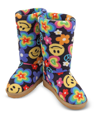Beeposh Razzle Boot Slippers (M)