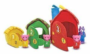 Three Little Pigs Play Set