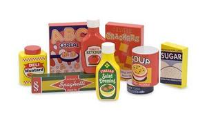 Dry Goods Pantry Set - Wooden Play Food