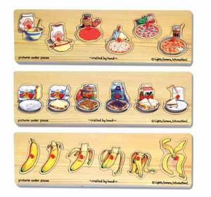 Progression Peg Puzzle Set