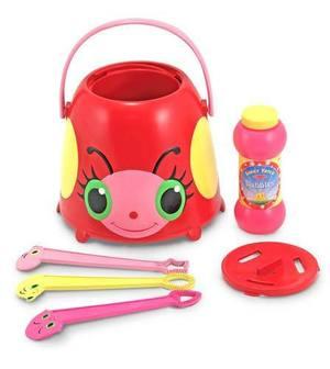 Bollie Ladybug Bubble Bucket