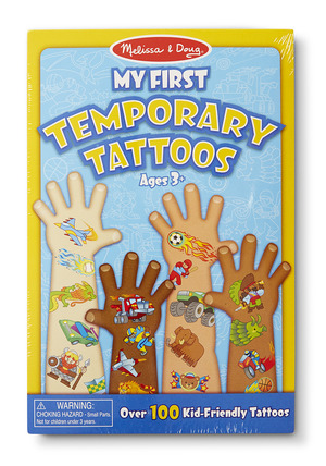 My First Temporary Tattoos - Blue