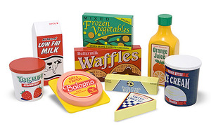 Fridge Food Set - Wooden Play Food