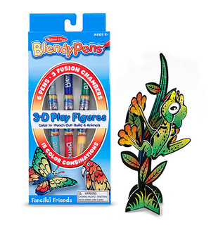 Blendy Pens Markers and Activity Set - Funky Creatures