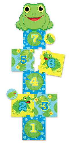 Froggy Hopscotch Game