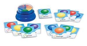 Bye-Bye Balloon Press & Spin Game
