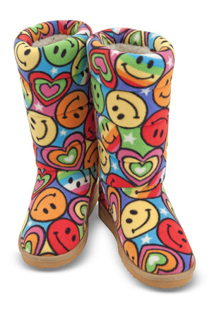 Beeposh Lizzy Boot Slippers (L)