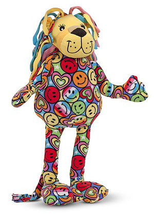 Beeposh Lizzy Lion Stuffed Animal