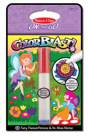 Fairies Colorblast Book - ON the GO Travel Activity