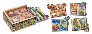 Animals Mini-Puzzle-Pack