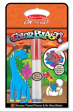 Dinosaurs Colorblast Book