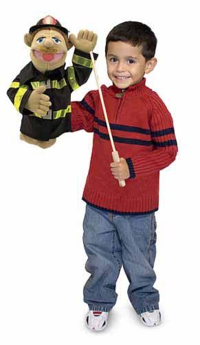 Firefighter Puppet