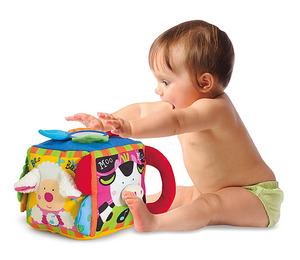 Musical Farmyard Cube Learning Toy