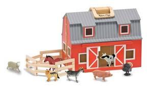 Wooden Fold & Go Barn