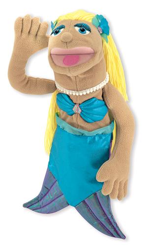 Shelly Seashore Mermaid Puppet