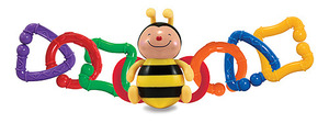 Linking Bee Baby Toy