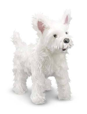 West Highland Terrier (Westie) Dog Giant Stuffed Animal