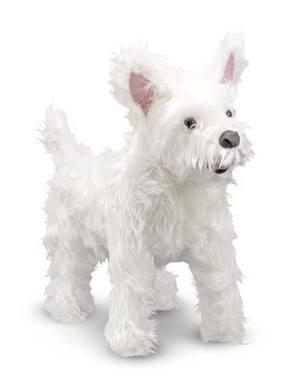 West Highland Terrier (Westie) Dog Giant Stuffed Animal