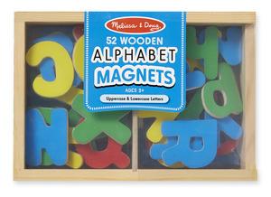 Wooden Letter Alphabet Magnets