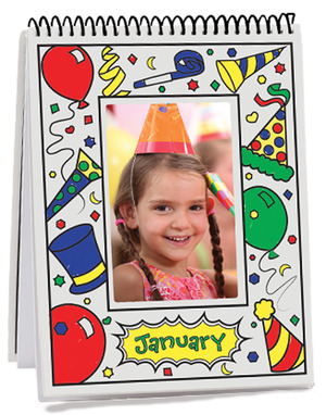 Month-by-Month Flip Frame