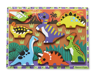 Dinosaurs Chunky Puzzle - 7 Pieces