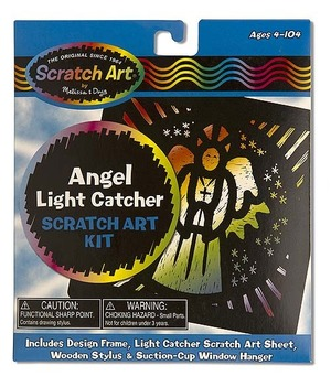 Scratch Art® Angel Light Catcher Kit