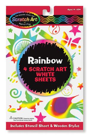 Scratch Art® Rainbow White Pack