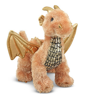 Luster Dragon Stuffed Animal