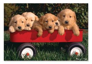 Puppy Wagon Cardboard Jigsaw -100 Pieces