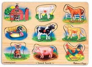 Farm Sound Puzzle