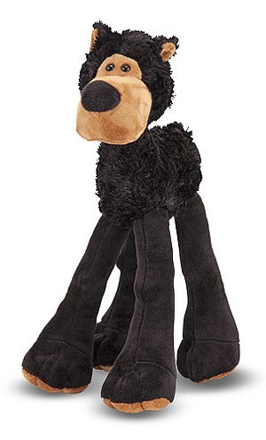 Lanky Legs Black Bear Stuffed Animal