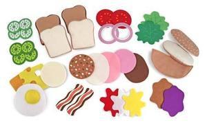 Felt Play Food - Sandwich Set