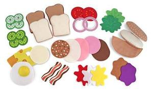 Felt Play Food - Sandwich Set